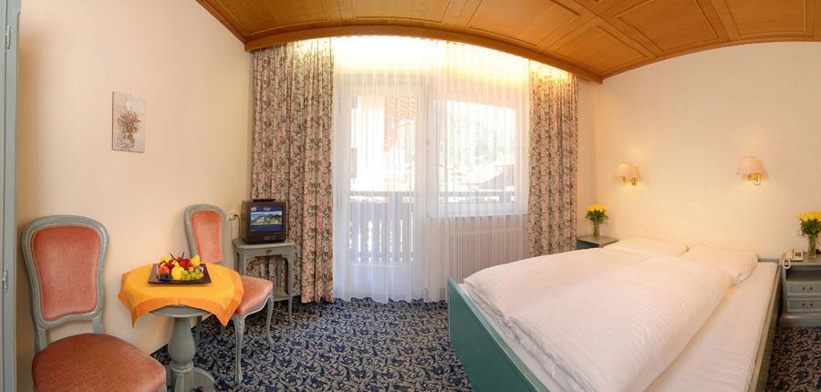 Hotel Garni Strass, Mayrhofen, Austria - Bedroom interior.jpg